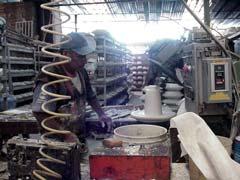 写真 工房の内部 Junuary 2003 撮影