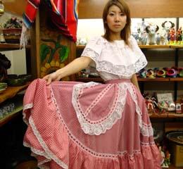 メキシカン衣装