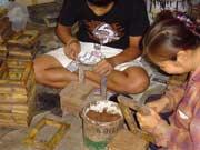 写真 工房の様子 Junuary 2004 撮影