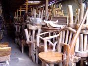 写真 素の木彫品 July 2004 撮影