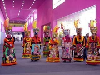 チネロスピープルの踊り Junuary 2003 撮影