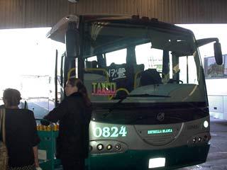 タスコ行きのバス Junuary 2003 撮影