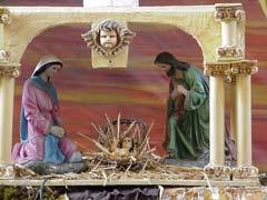 写真 キリストの生誕 Junuary 2003 撮影