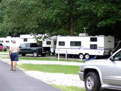 写真 ストーンマウンテン・パーク・キャンプ場 July 2003 撮影