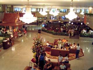 ホテルの様子 February 2004 撮影