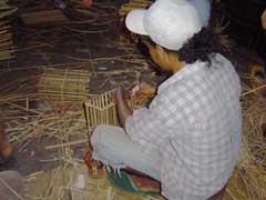 写真 ランプ作り April 2005 撮影