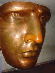 写真 自由の女神の顔 August 2005 撮影