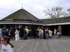写真 チケット売り場 Augustt 2005 撮影