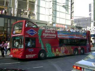 観光ツアーバス August 2005 撮影
