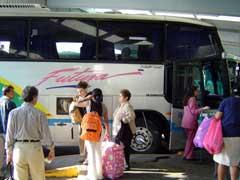 写真 メキシコシティのバス乗り場 February 2006 撮影