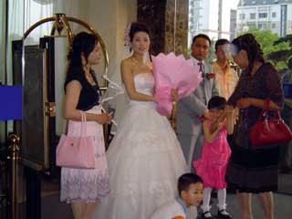 結婚式の様子 April 2006 撮影