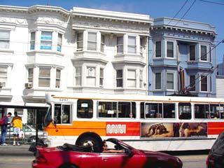 写真 バスから見える町並み August 2000 撮影